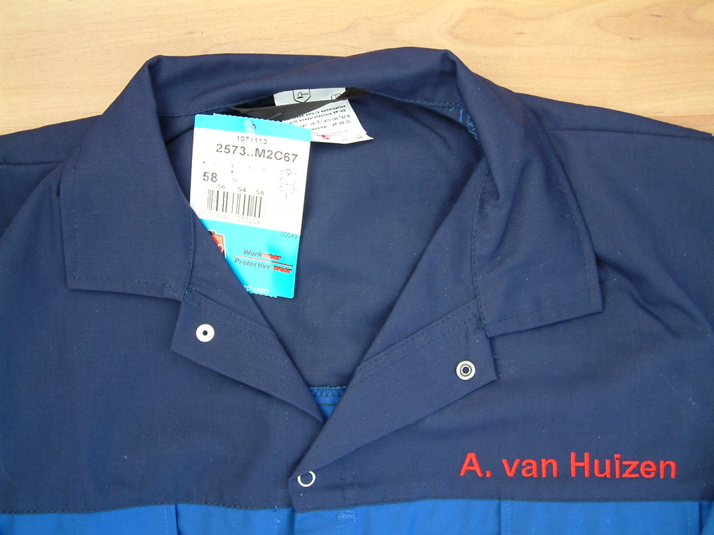 Bedrijfskleding Autobedrijf Andries van Huizen